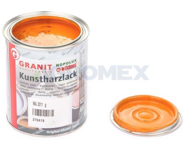 Lakier nopolux wilckens ral 2011 g boki pomara cz 0 75l lakiery wg tablicy kolor w ral for Peinture granit nopolux